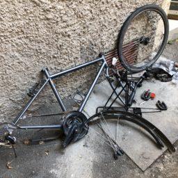 Abschied und Vorbereitung Fahrradversand in Verona