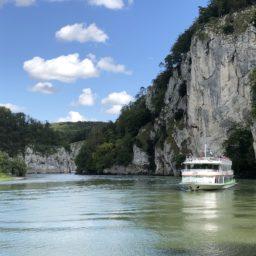 Wenige Kilometer an der Donauenge