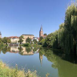 Ankunft in Leipzig