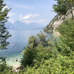 Vom Gardasee an den Sarca